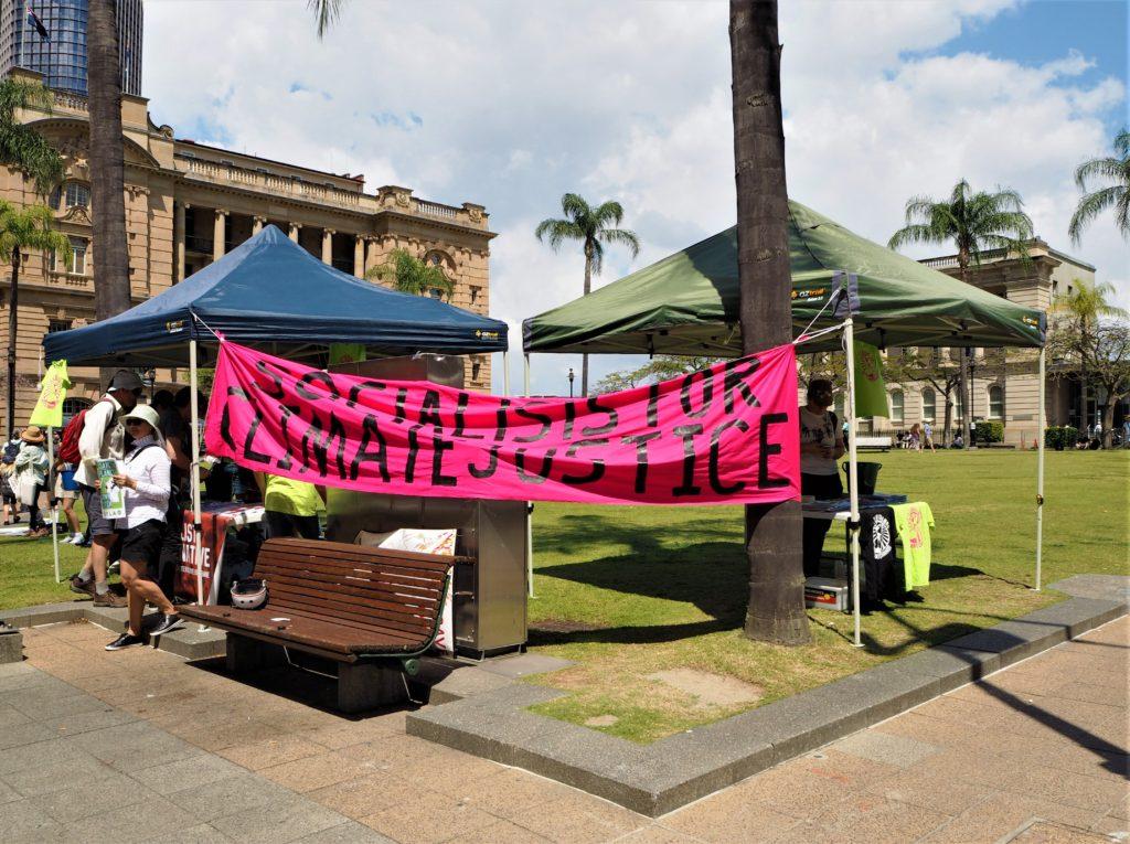 Socialists for Climate Justice, Brisbane. Celosvětová stávka za klima.