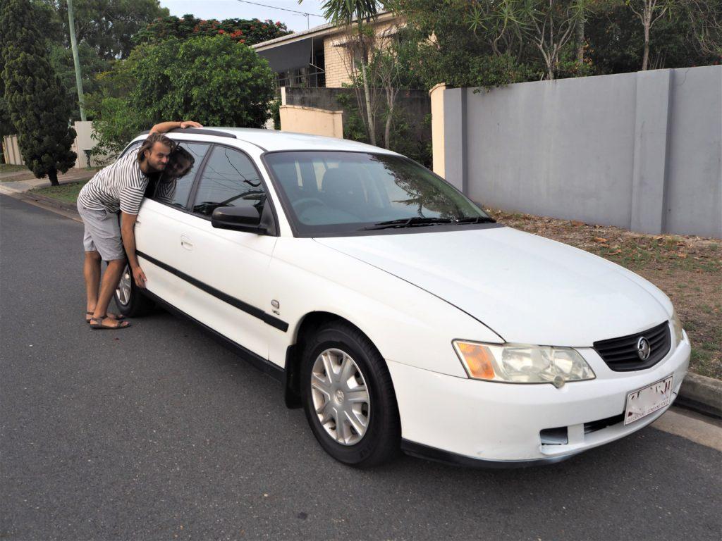 Adam s vysněným autem, Gold Coast 2020