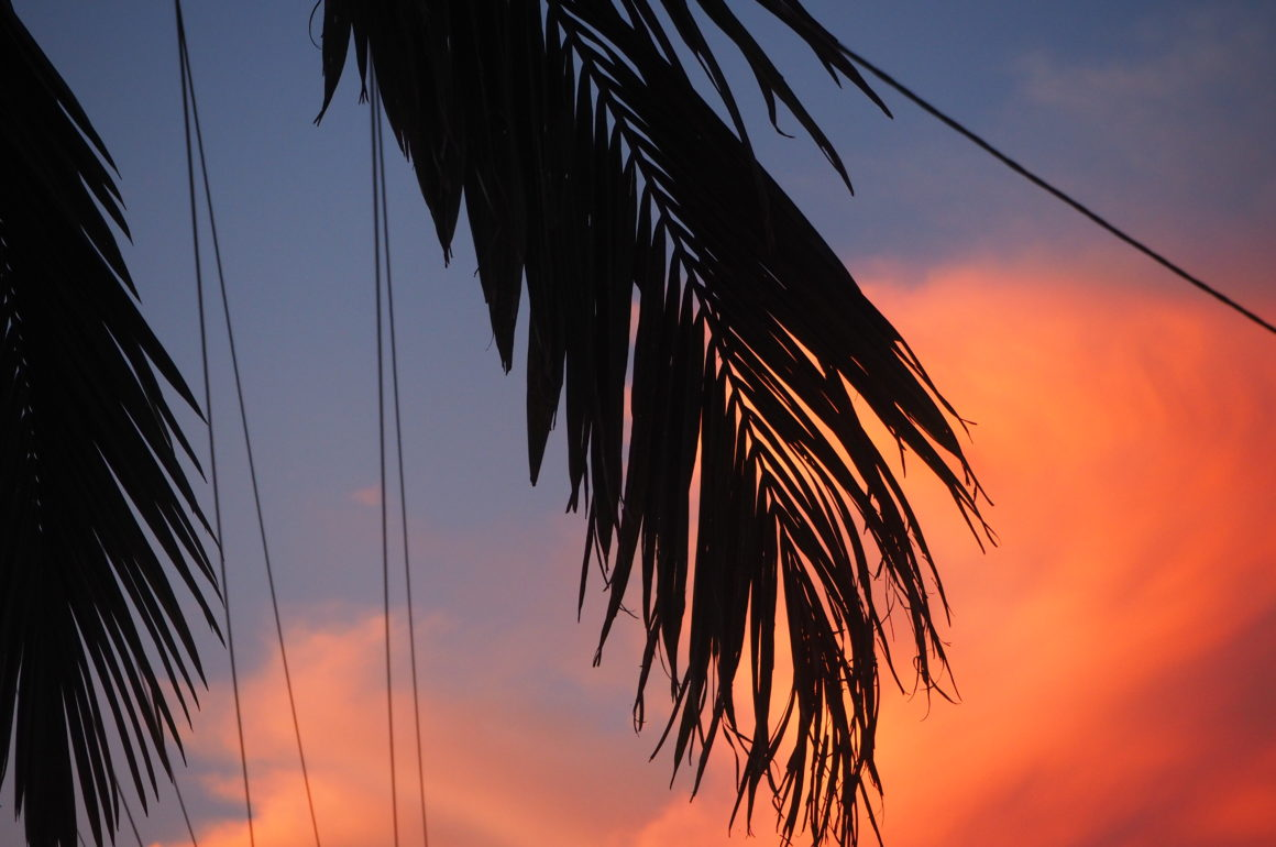 Západ Slunce, Broadbeach Waters, Gold Coast, 2020