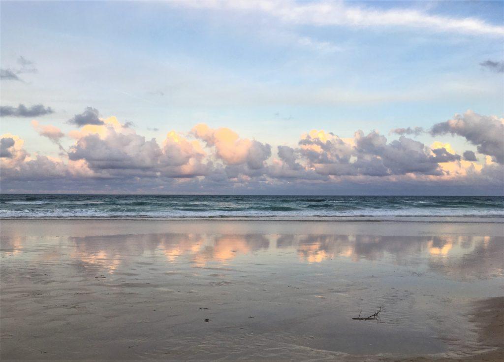 Západ Slunce, Broadbeach, Gold Coast, 2020