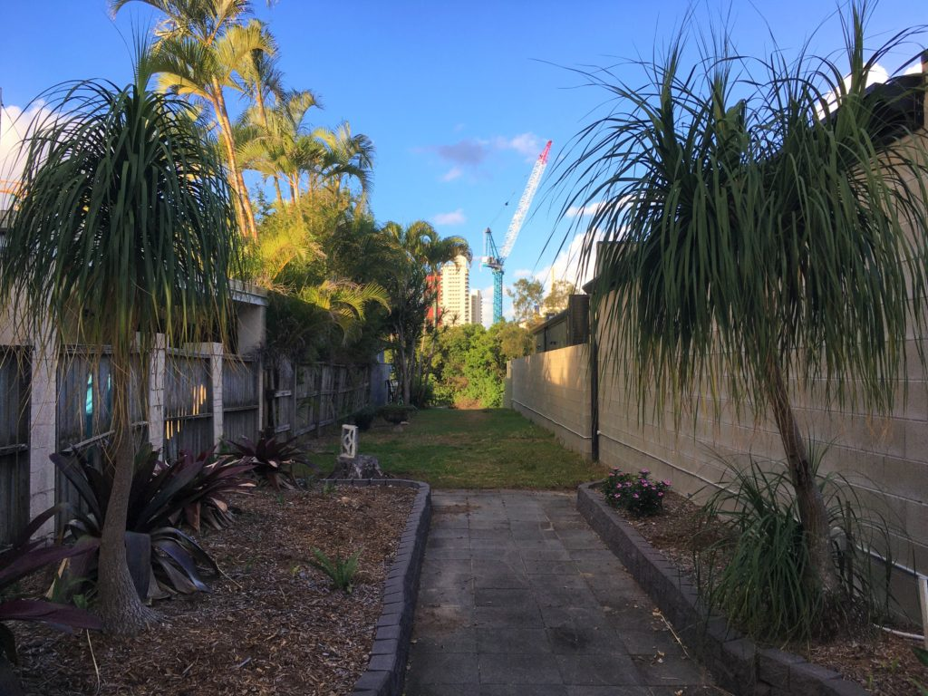 Zahrada Broadbeach Waters, Gold Coast, 2020