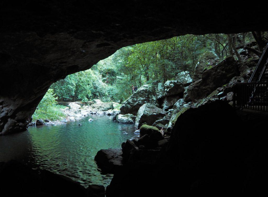 Natural Bridge, Springbrook National Park, Gold Coast, 2020