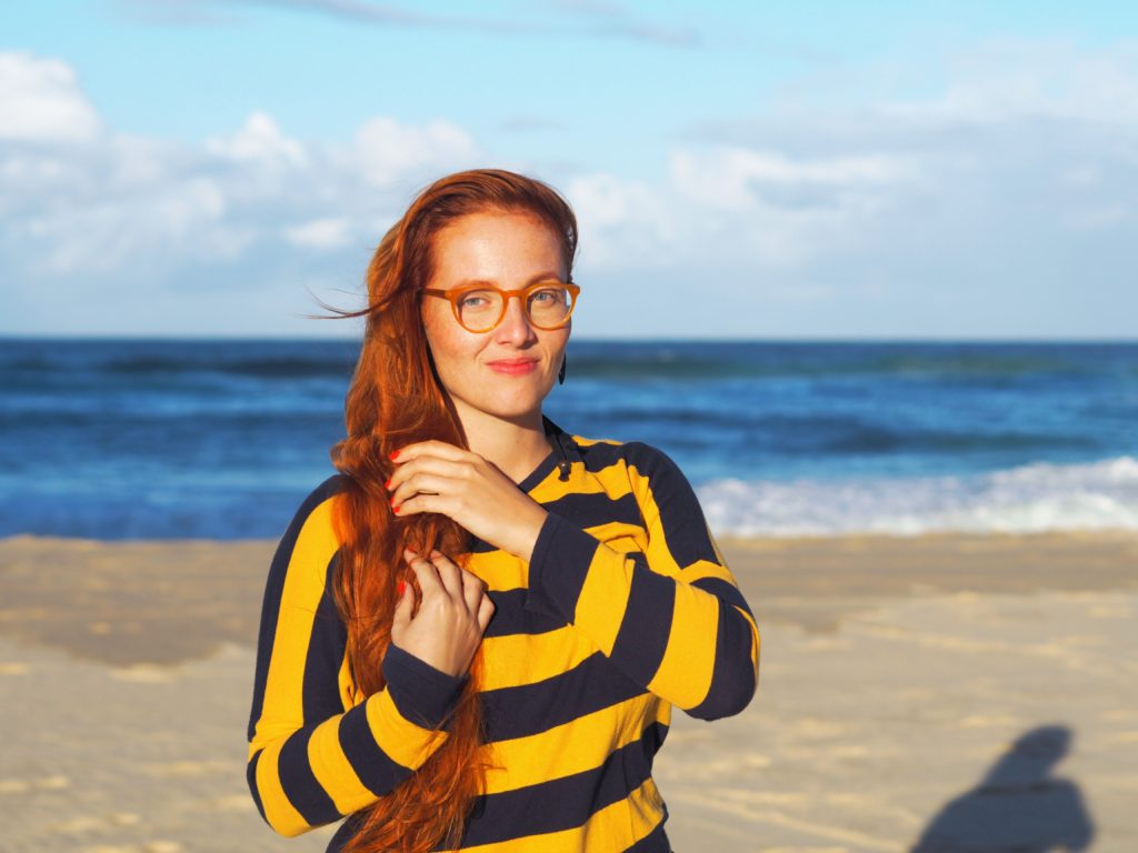 Portrétní focení ve zlaté hodince Surfers Paradise, Gold Coast, 2020