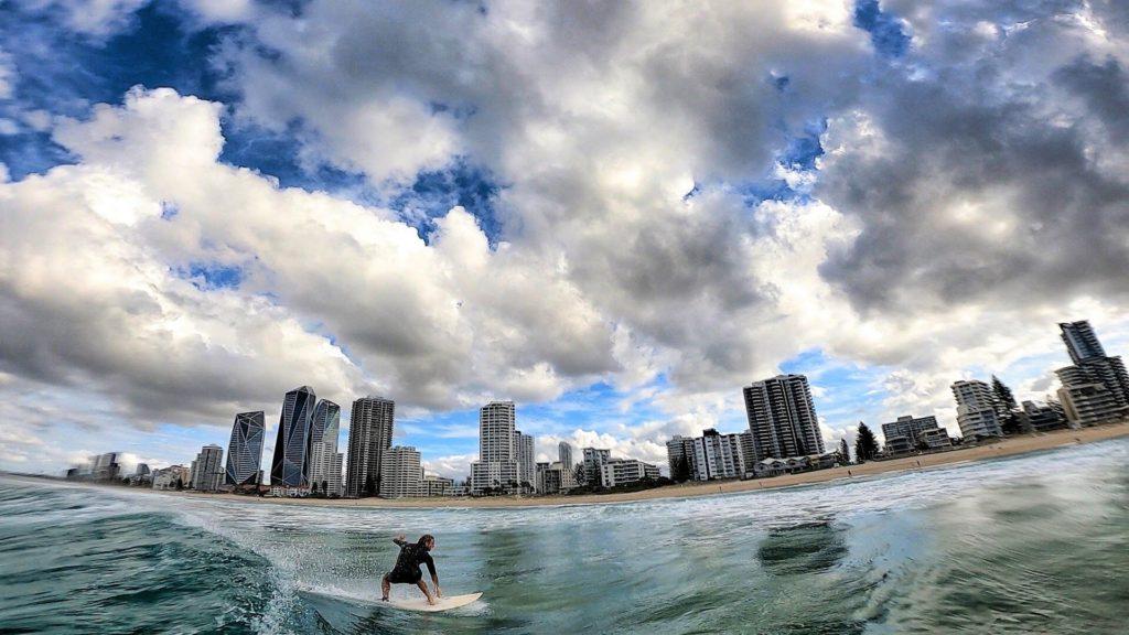 Adam na Surfers Paradise, Gold Coast, 2020