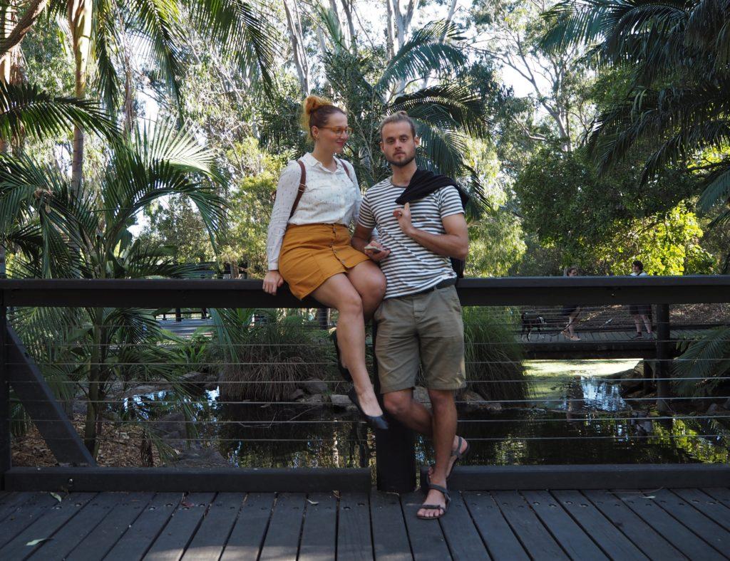 My dva v Gold Coast Regional Botanic Gardens, 2020